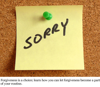 Forgiveness Sermon Notes | Todd Lynch – God's Music Geek